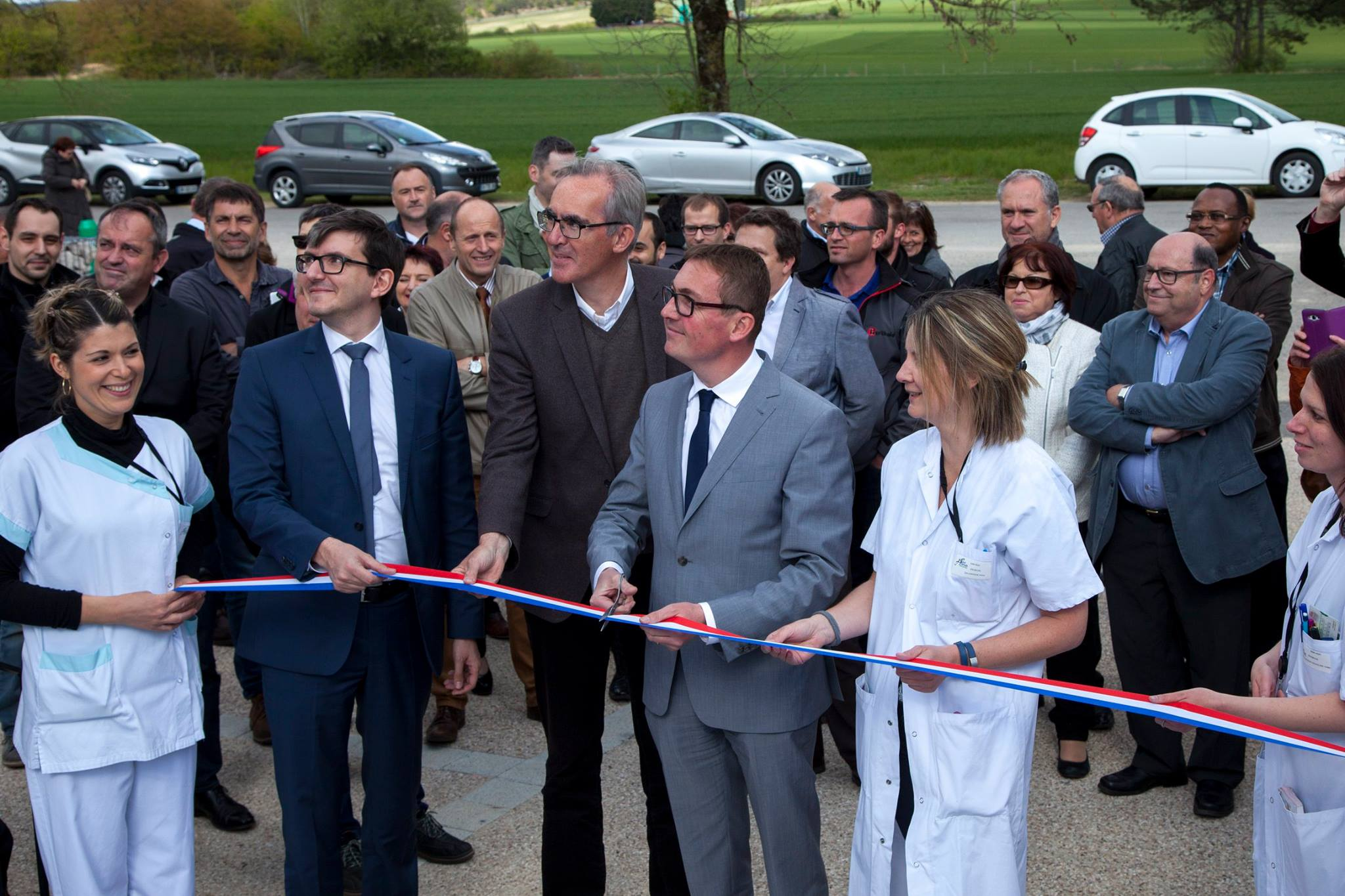 Inauguration du nouveau bâtiment sur le site de Désandrouins