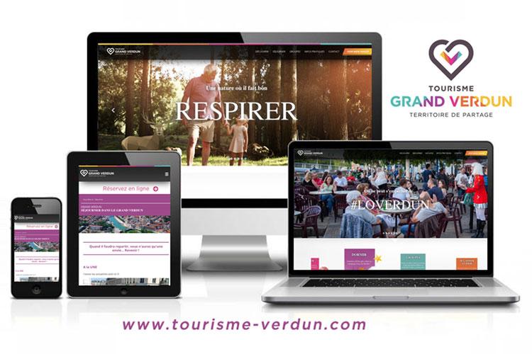 Un nouveau site internet pour l'office de tourisme du Grand Verdun !