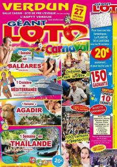 Loto Géant Spécial Carnaval