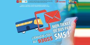 Le ticket de bus par SMS, désormais disponible dans l'Agglo !