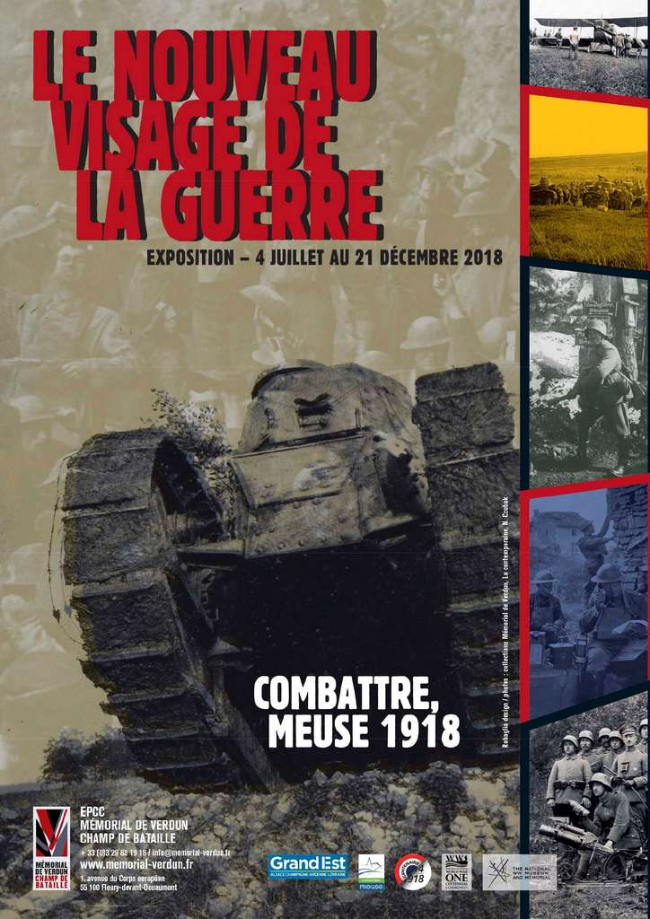 Le Nouveau Visage de la Guerre. Combattre, Meuse 1918