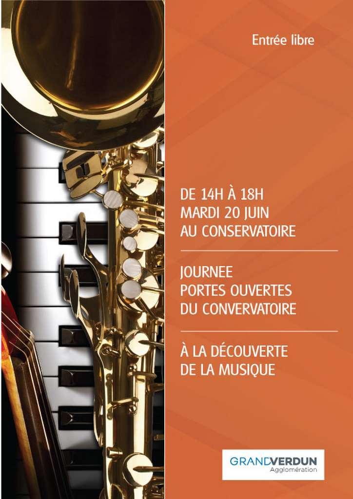 Le Conservatoire de Musique ouvre ses portes !