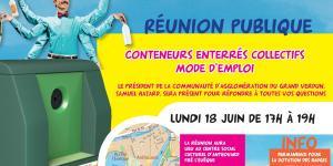 Réunion publique au Centre social et culturel Anthouard Pré l'Évêque