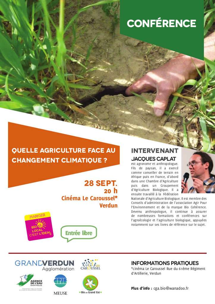Quelle agriculture face au changement climatique ?