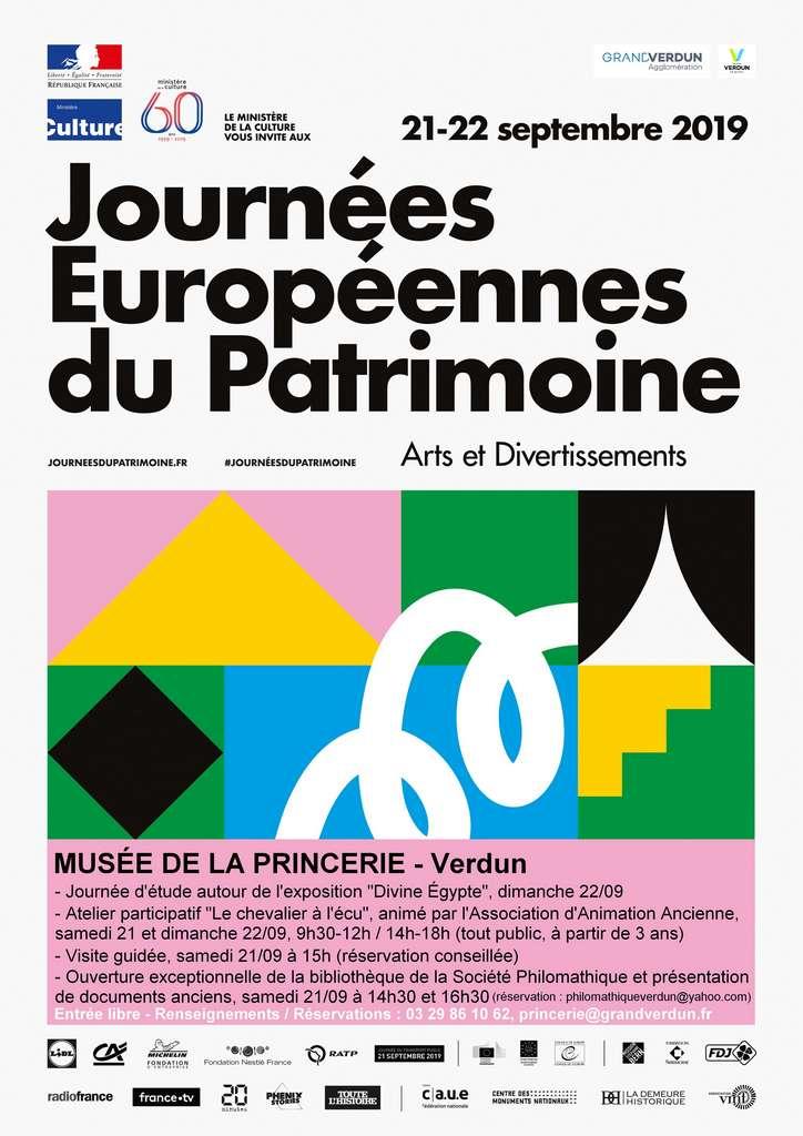 Journées Européennes du Patrimoine au Musée de la Princerie