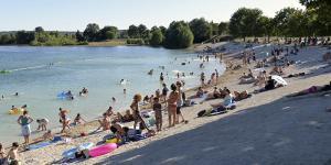 Orages : Une partie de la plage a été endommagée