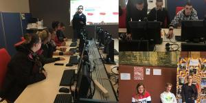 Retour en images sur un projet novateur entre le Numéripôle et L'École de la 2nde chance