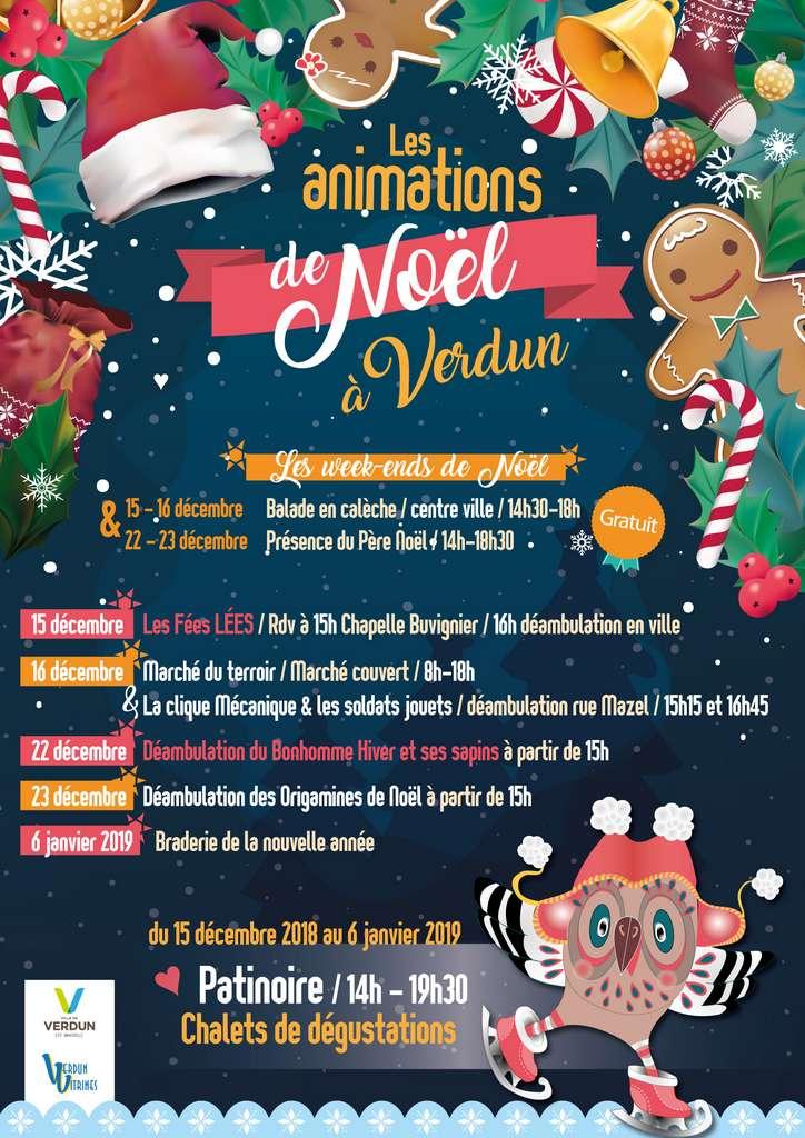 Animations de Noël à Verdun