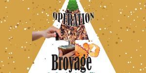 Opération Broyage de Sapin de Noël