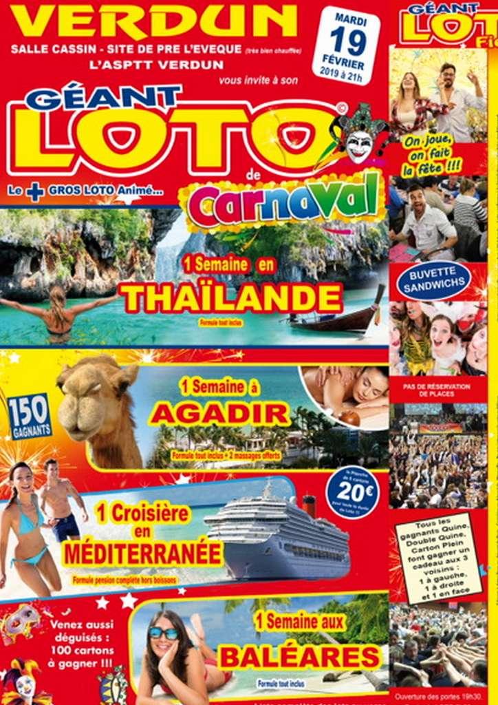 Loto Géant de Carnaval