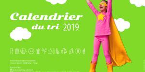 Calendrier du tri 2019, dans votre boîte aux lettres !