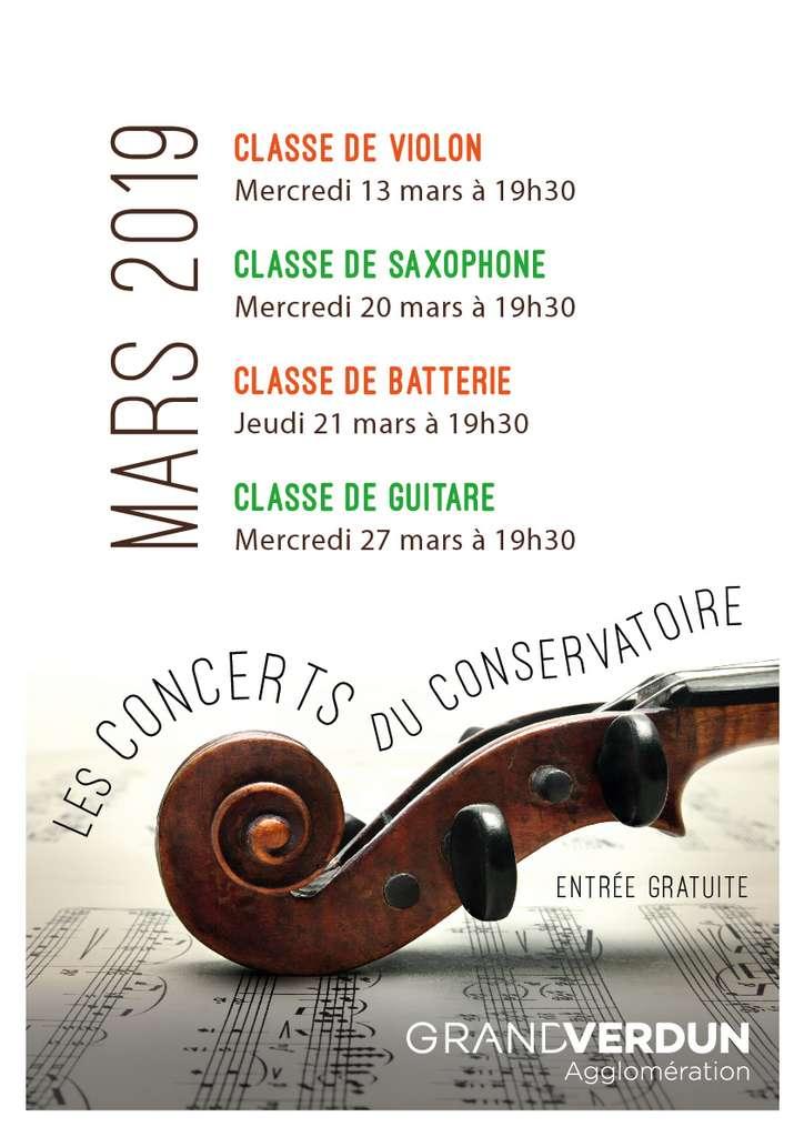 Concert de Saxophone