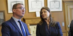 Visite de Madame Aliza BIN-NOUN, Ambassadeur d'Israël en France