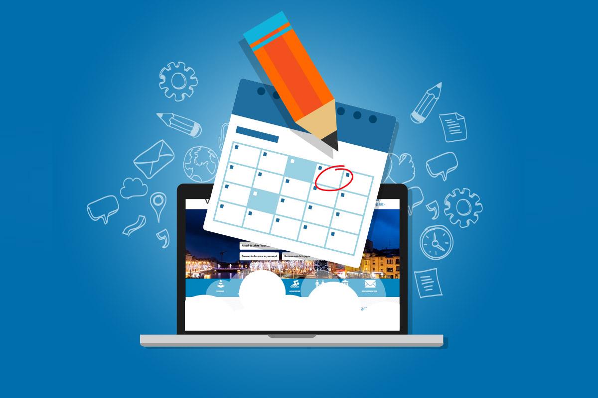 Inscrivez vos évènements dans notre agenda en ligne !