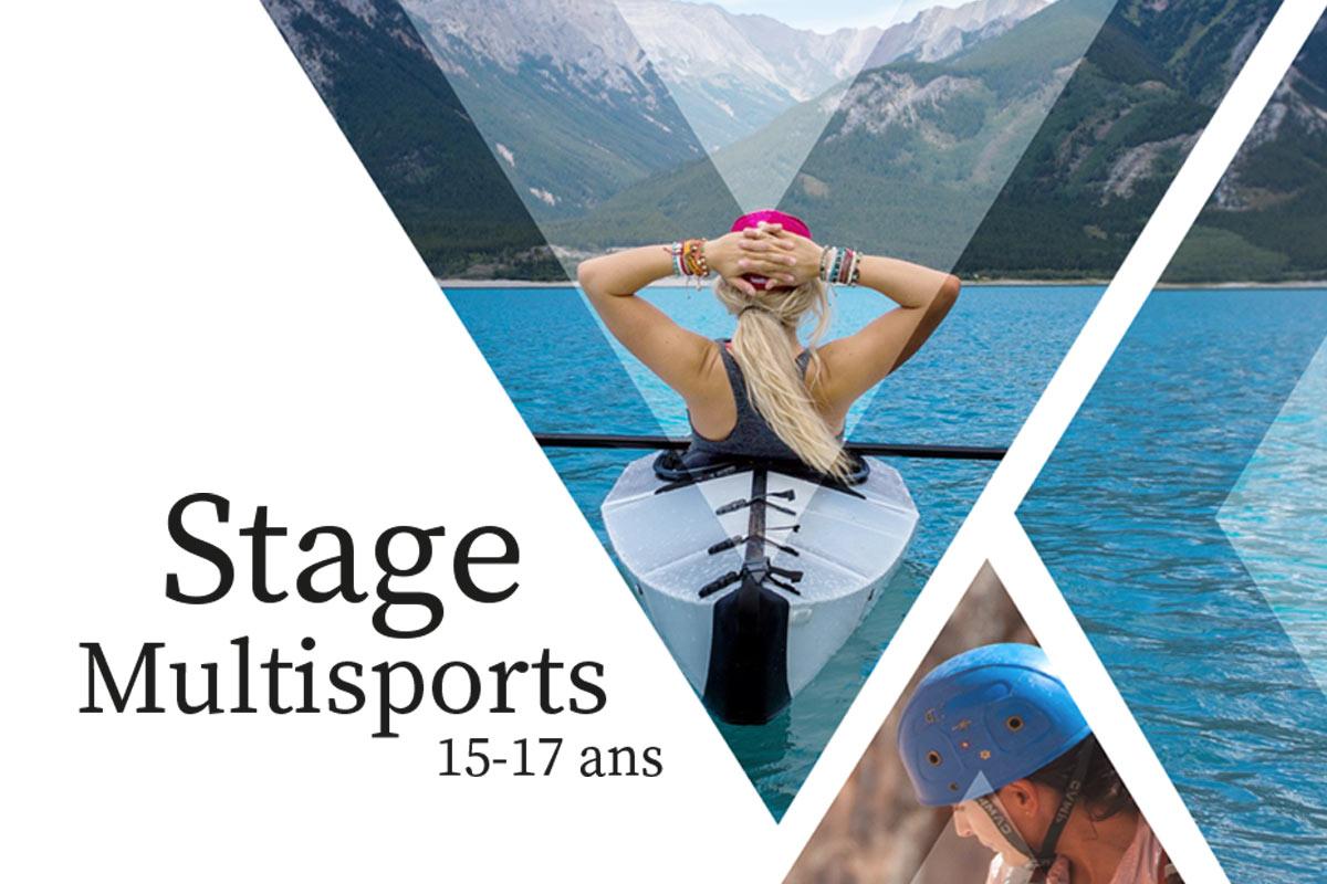 Inscription aux stages multisports 15-17 ans
