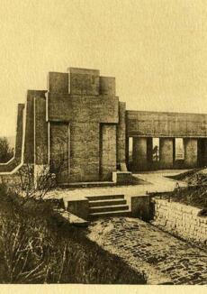 Monseigneur Ginisty et les fondateurs de l'Ossuaire de Douaumont