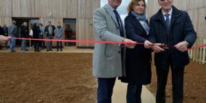 Inauguration de 42 logements aux Planchettes
