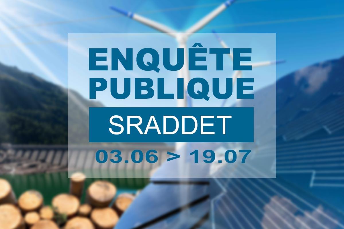 Avis d'enquête publique sur le projet SRADDET de la région Grand Est