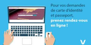 Prise de rendez-vous pour demande de CNI et Passeport