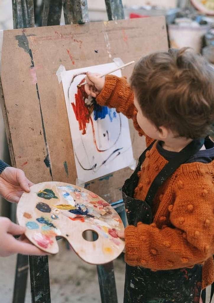 Visite-atelier pour les enfants