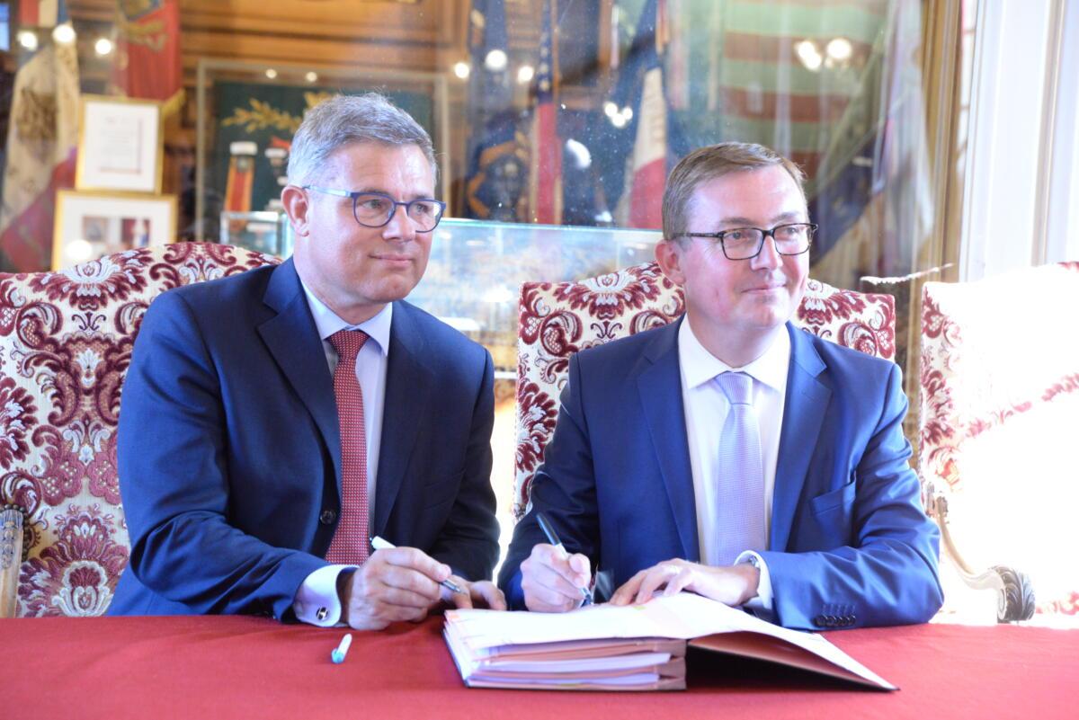 Signature de la nouvelle délégation de service public relative aux transports publics