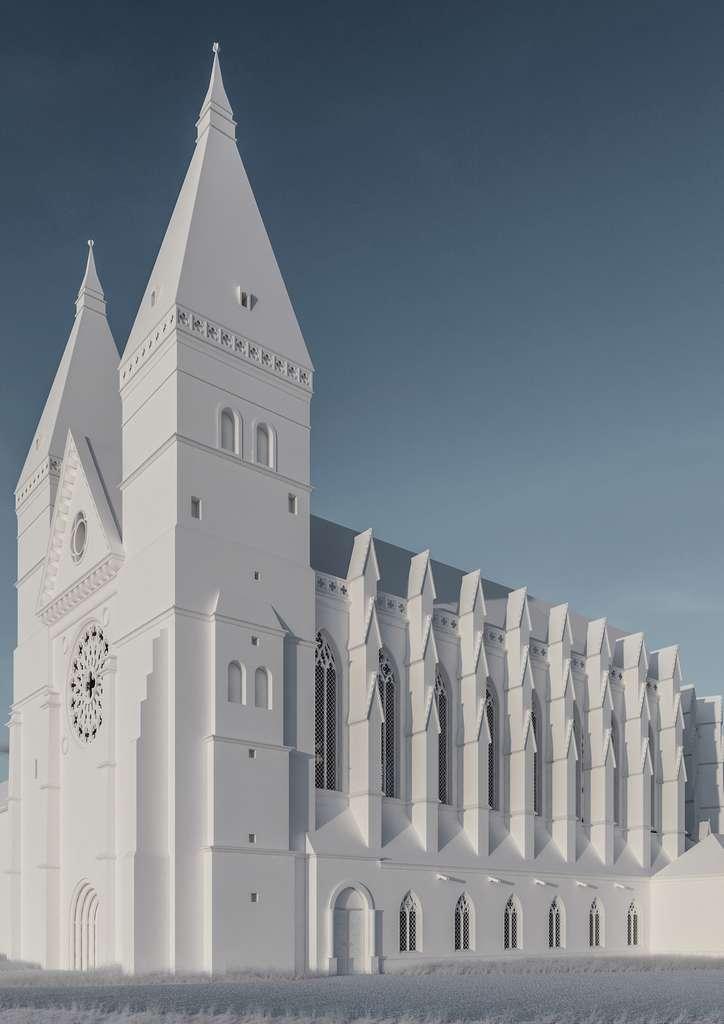 L'Abbaye Saint-Vanne de Verdun, restitution archéologique d'un monastère médiéval