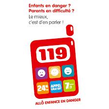 119, numéro d'appel pour l'enfance en danger