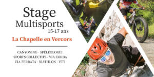 Inscription aux stages multisports 15-17 ans