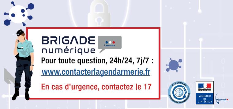 Sécurité numérique:  les conseils de la gendarmerie