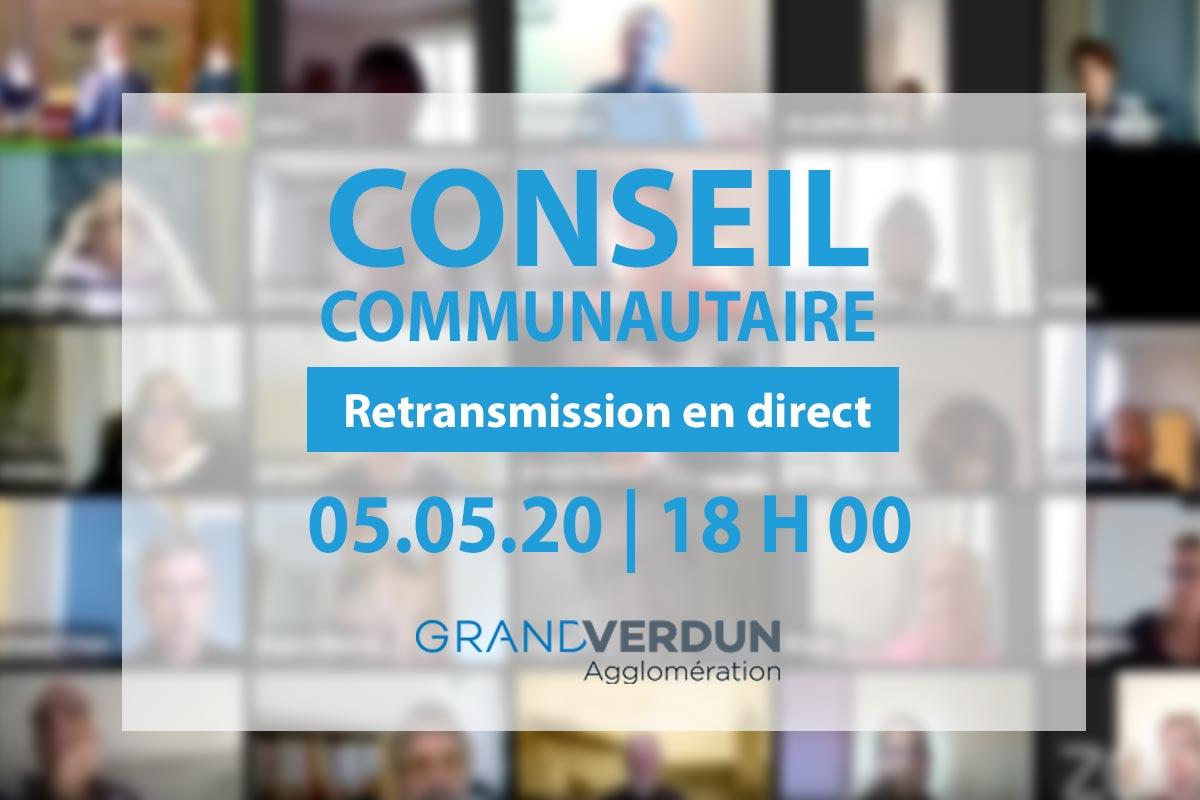 Conseil communautaire «confiné» de l'agglomération du Grand Verdun