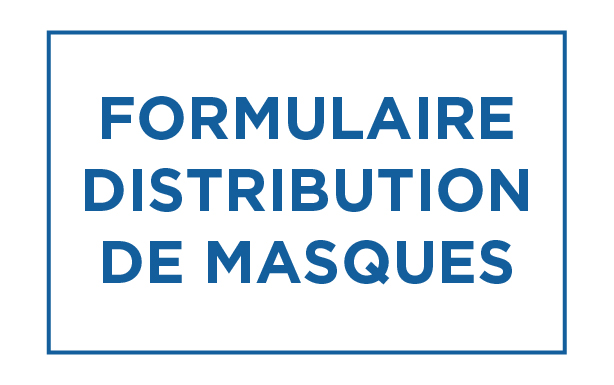 Distribution de masques pour les habitants de Verdun