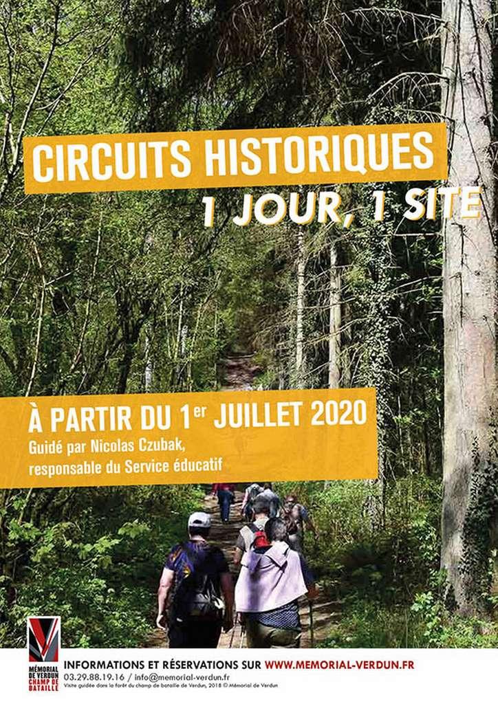 Circuits Historiques – 1 jour, 1 site