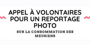 Appel à volontaires pour un reportage photo