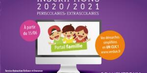 Inscriptions périscolaires et extrascolaires 2020/2021