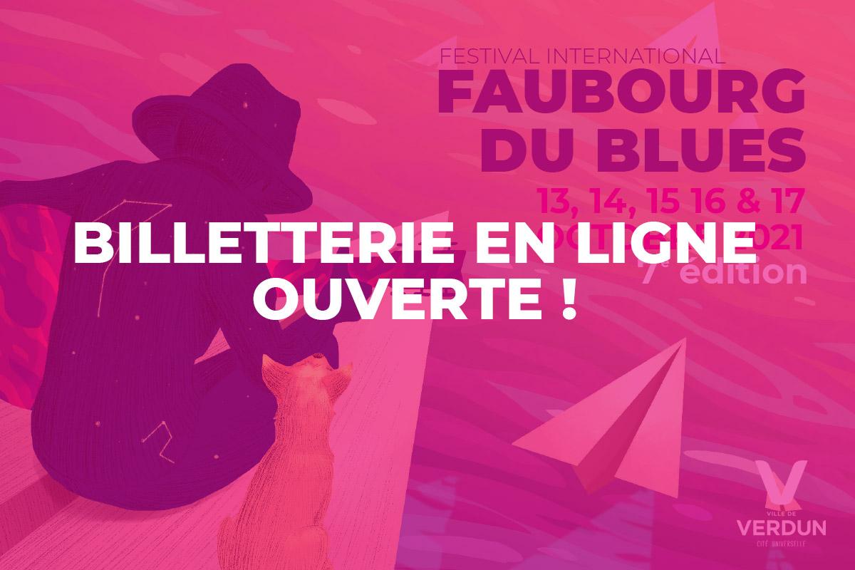 Faubourg du Blues : billetterie en ligne ouverte !!!!