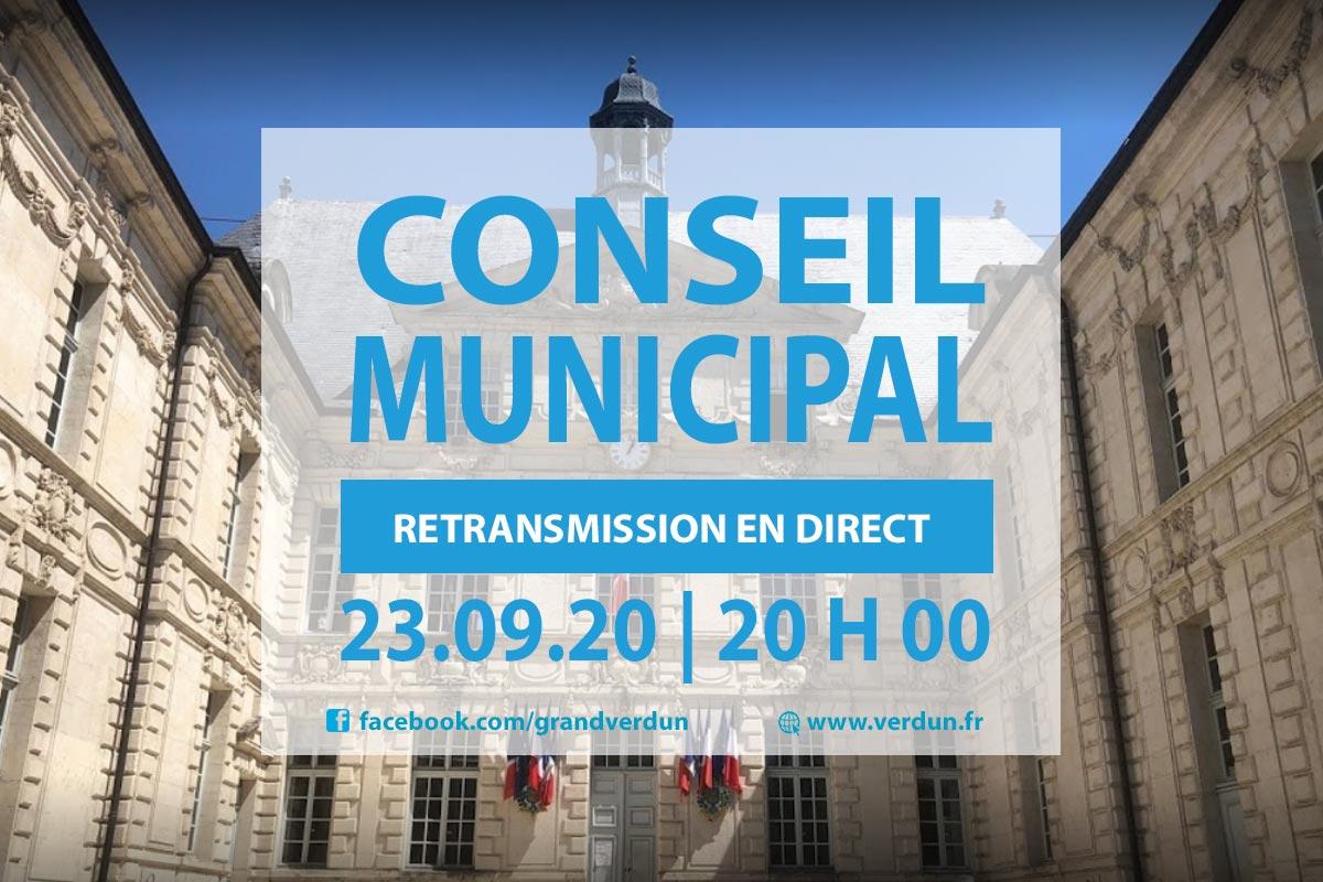 Conseil Municipal en Live !