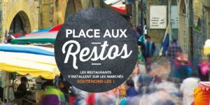 Les 23 et 30 avril et les 7 et 14 mai, les restaurateurs locaux s'installent au Marché Couvert !