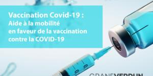 Aide à la mobilité en faveur de la vaccination contre la COVID-19