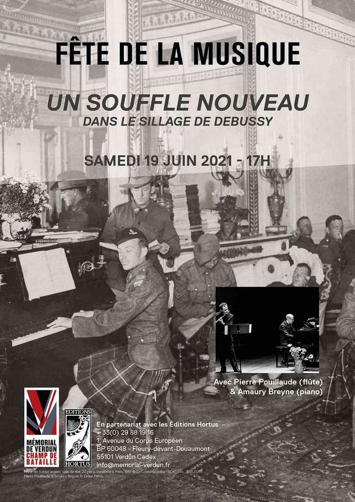 Récital «Un souffle nouveau dans le sillage de Debussy»