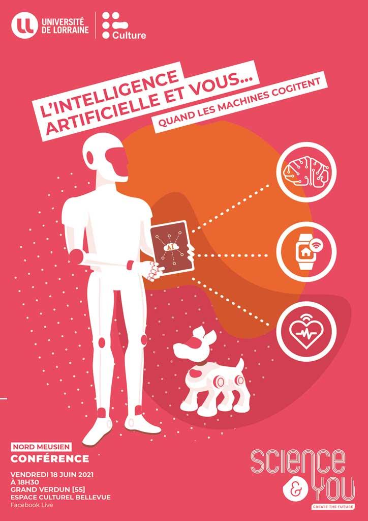 L'Intelligence Artificielle et Vous… quand les machines cogitent