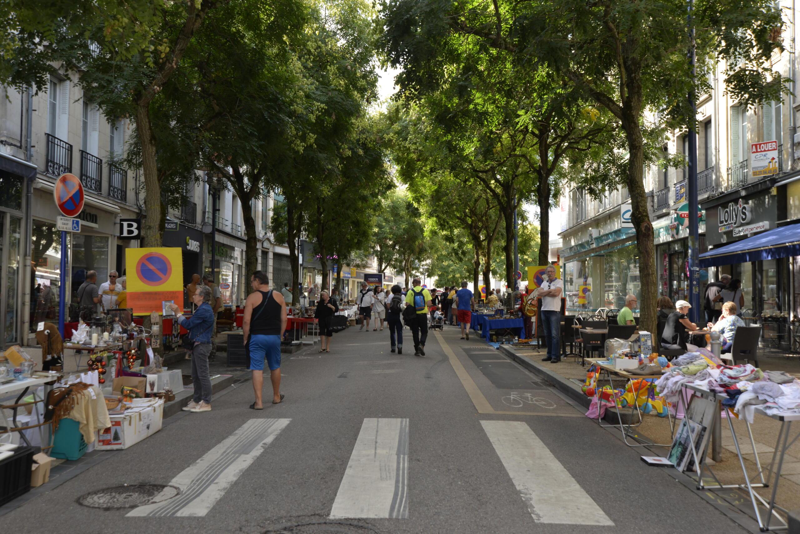 Annulation de la brocante du 15 août rue Mazel à Verdun