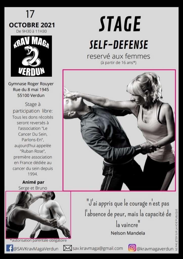 Stage féminin de Self-Défense