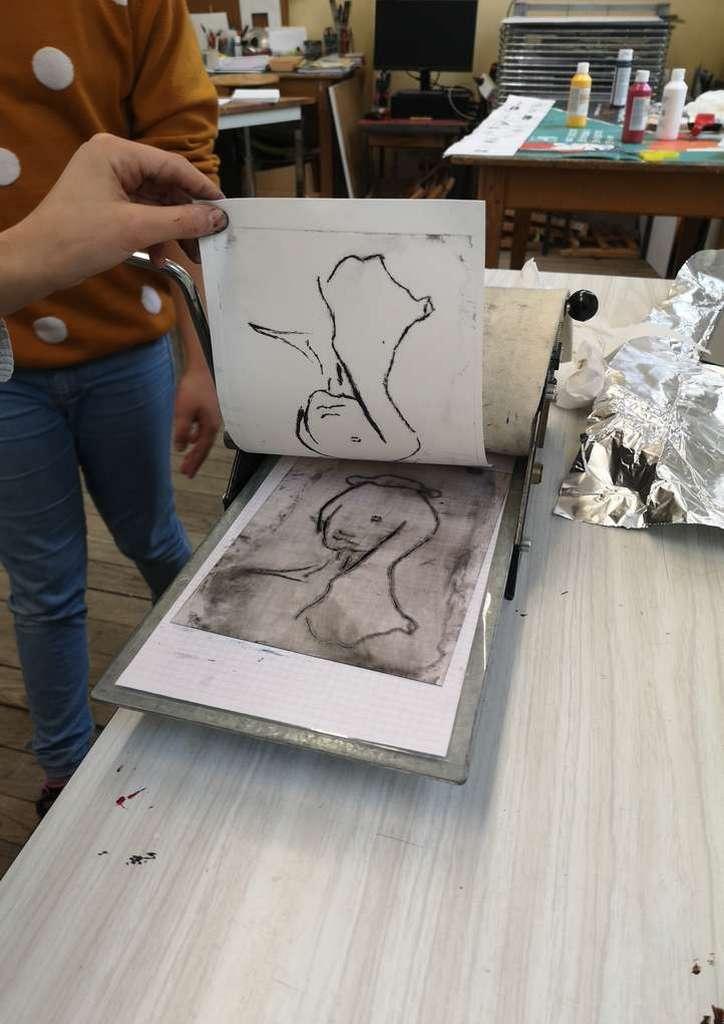 Atelier «Gravure et estampe à la manière japonaise» au Musée de la Princerie