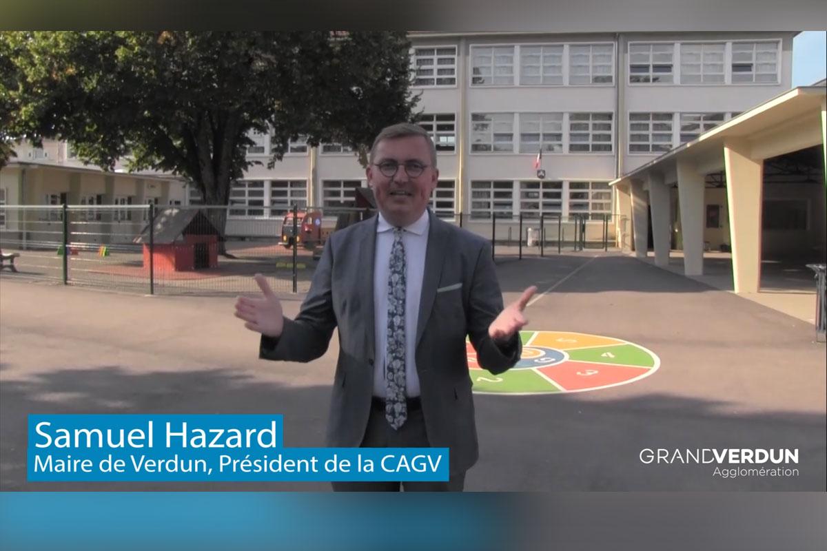 Votre Maire, Samuel Hazard vous souhaite une bonne rentrée !