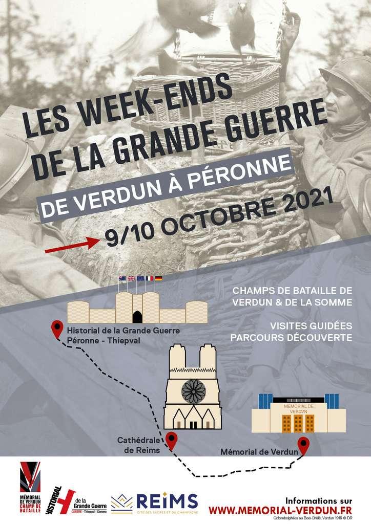 Les week-ends de la Grande Guerre – de Verdun à Péronne