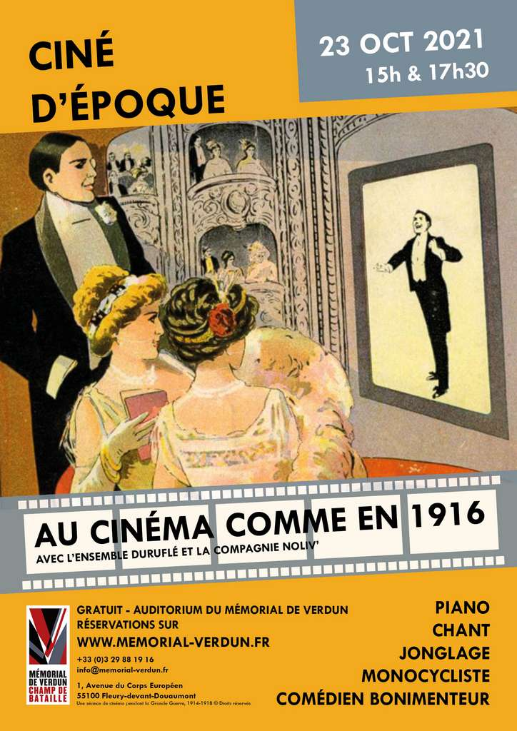 Ciné d'époque – Au cinéma comme en 1916 !